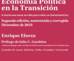 Libro: Economía Política en la Transición.Autor: Enrique Elorza.