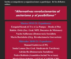 Alternativas revolucionarias al posibilismo y al sectarismo. Por Ezequiel Kosak