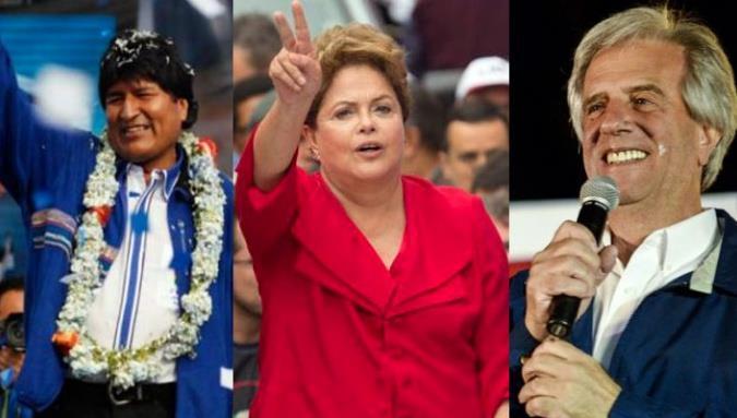 Elecciones en sudamerica