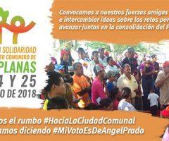 Encuentro en Solidaridad con el Movimiento Comunero de Simón Planas: por la unidad popular para el socialismo territorial