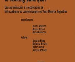 Libro: ¿Fracking para qué?