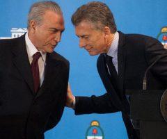 Las increíbles concesiones de Macri, Temer, Vázquez y Cartes a la Unión Europea