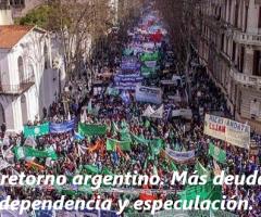 Libro:El retorno argentino. Más deuda, dependencia y especulación