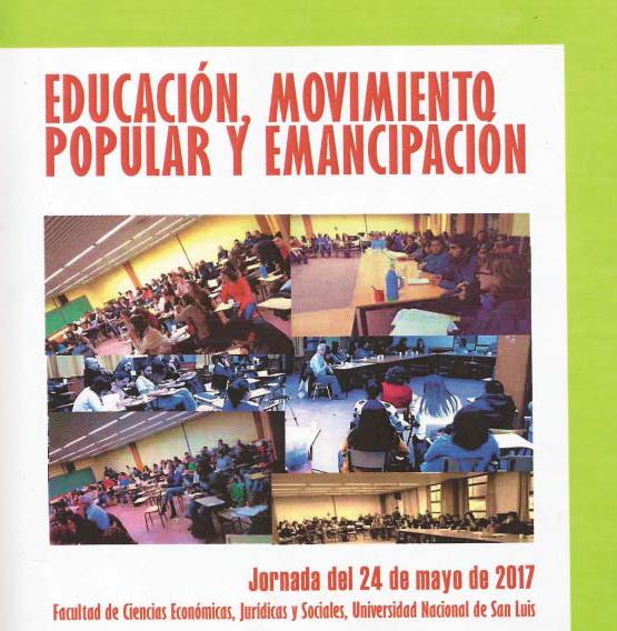 Educación, Movimiento popular y Emancipación