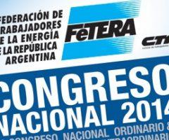 Declaración sobre energía del Congreso de FeTERA