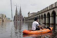 Las inundaciones aportan al debate sobre el modelo productivo