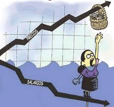 Salarios, impuestos y conflicto sindical